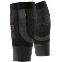 Seamless compresie calf bands Skins Essentials negru-graphite ES9005088 0002 femei