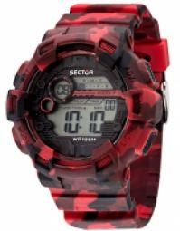Sector Mod Ex-19 Dual-time Timer Callendar 1100 Second Chronograph 10 Atm