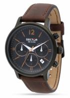 Sector Watches Model 640 R3271693001 - Movement: Quartz - Chronograph - Date