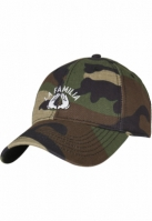 Sepci C&S WL La Familia Curved camuflaj-negru Cayler and Sons