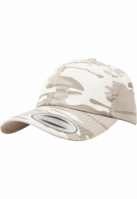 Sepci Low Profile Camo Washed desert-camuflaj Flexfit