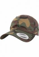 Mergi la Sepci Low Profile Cotton Twill verde-camuflaj Flexfit
