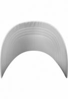 Sepci Low Profile Satin alb Flexfit
