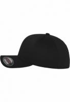 Sepci originale Flexfit Wooly Combed negru-negru