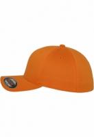Sepci originale Flexfit Wooly Combed portocaliu