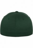 Sepci originale Flexfit Wooly Combed verde