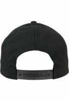Sepci rap Classic Snapback 5-Panel Curved negru Flexfit
