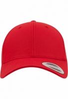 Sepci rap Classic Snapback Curved rosu Flexfit