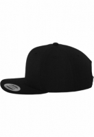 Sepci rap Classic Snapback negru Flexfit
