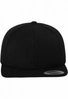 Sepci rap Classic Snapback negru-negru Flexfit