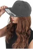 Sepci rap Snapback 110 Fitted gri inchis Flexfit