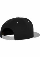Sepci rap Snapback Classic 5 Panel negru-argintiu Flexfit