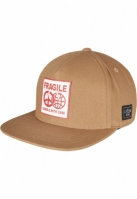 Sepci rap snapback FRAGILE PEACE nisip-mc Cayler and Sons