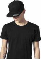 Sepci rap Snapback Melton Wool negru Flexfit