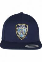 Sepci rap Snapback NYPD Emblem bleumarin Merchcode
