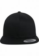 Sepci rap Snapback Organic bumbac negru Flexfit