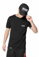 Sepci rap Snapback Pusher Athletics negru-alb