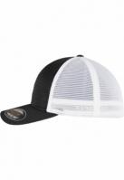 Sepci Sapca Flexfit 360 OMNIMESH doua culori negru-alb