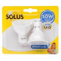 Set 2 Solus 50W LED Light Bulbs