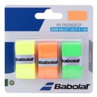 Set 3 Mansete sport Babolat My Overgrip portocaliu verde galben 653045