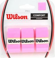Set 3 Mansete sport WILSON PRO COMFORT OVERGRIP roz / WRZ4014PK