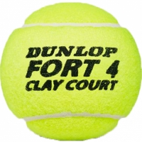 Set 4 Mingi de tenis Dunlop Fort zgura Court