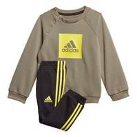 Mergi la Set bebelusi adidas Logo Crew Sweat pentru baieti