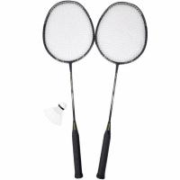 Set Badminton cu Axer Sport Alu Carbon Cover negru A1987