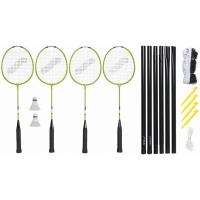 Set Badminton Stiga Weekend WS 2 Rackets, 2 Target plasa cu Racks