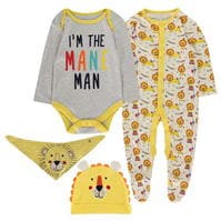 Set bebelusi Crafted Essentials Newborn 4 Piece