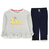 Set bebelusi Crafted Mini Frill Clothing pentru fete