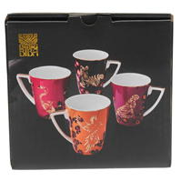 Set Biba 4 Safari Mugs84