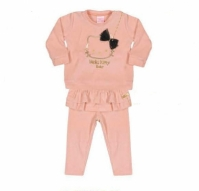 Set Bluzita Cu Pantaloni Babies Hello Kitty