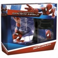 Set Cutie De Alimente Cu Sticluta Spiderman