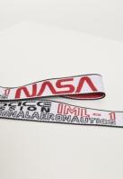 Set de 2 Curea NASA Jaquard alb-negru Mister Tee