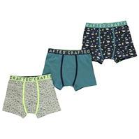 Set de 3 Boxeri Crafted Essentials Design pentru baieti