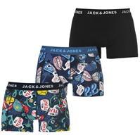 Boxeri Set de 3 Jack and Jones Printed pentru Barbati