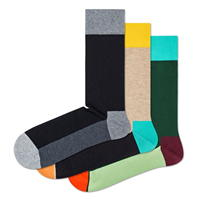 Set de 3 Sosete Happy Colour Block
