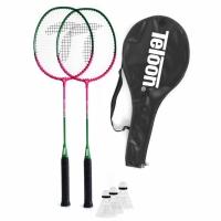 Set Badminton SMJ / 2 rachete + 3 fluturasi TL020 copii