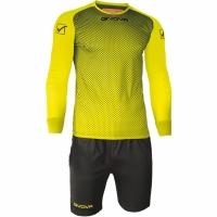 Mergi la Set echipament portar Givova Manchester Portiere galben-negru