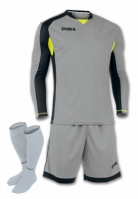 Set echipament portar Joma gri-negru cu maneca lunga