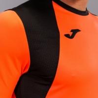 Set echipament portar Joma Zamora Iv Fluor Coral cu maneca lunga