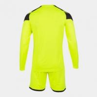 Set echipament portar Joma Zamora V Fluor galben cu maneca lunga fosforescent