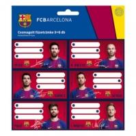 Set Etichete Caiet Fc Barcelona