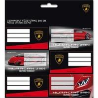 Set Etichete Caiet Lamborghini