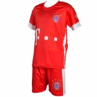 Set fotbal For Replica Lewandowski 9 Bayern 202021 rosu pentru Copii