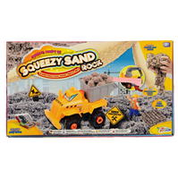 Set Grafix Magic Squeezy Sand Rock Construction