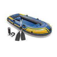 Set Intex Challenger 3 Person Boat