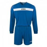 Joma Academy cu maneca lunga Set (shirt+short) Royal-alb