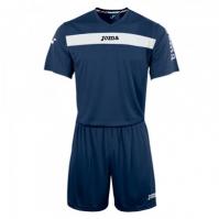 Joma Academy cu maneca scurta Set (shirt+short) bleumarin-alb